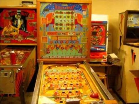 1955 bally broadway bingo pinball restoration