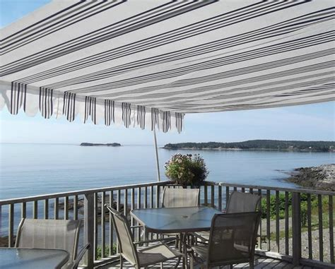 patio area and view of the bay of fundy picture