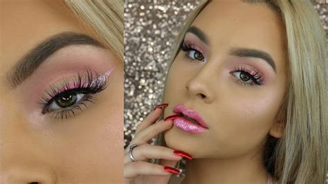makeup tutorial yt pink valentines day makeup tutorial aidette cancino