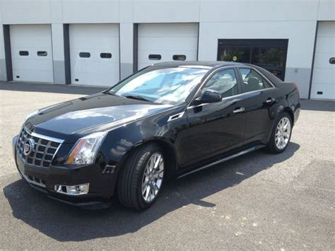 2012 cadillac cts 4 sell used 2012 cadillac cts premium sedan 4 door 3 6l in