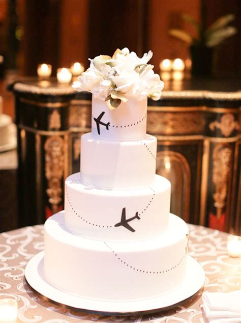 Themed Wedding Cakes by 20 Travel Themed Wedding Cakes Southbound