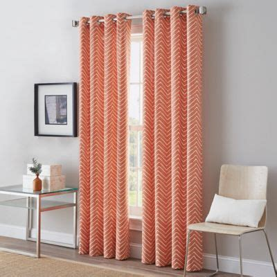 coral curtains drapes buy coral curtains and window treatments from bed bath