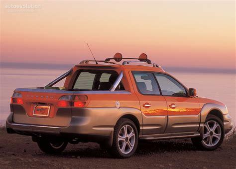 subaru baja subaru baja 2003 2004 2005 2006 autoevolution
