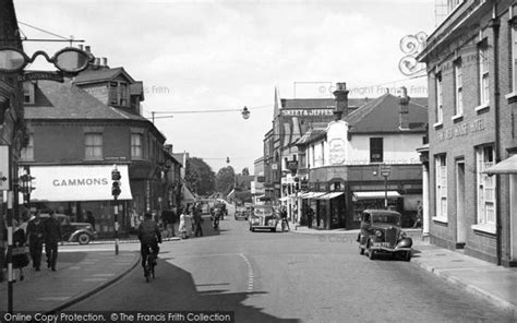 buy house woking framed photo print of woking red house crossroads c1955 francis frith