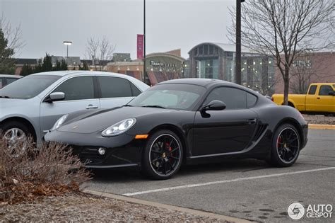 porsche cayman black porsche cayman s mkii black edition 19 december 2012
