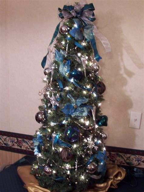 teal christmas tree decorations ideas decoration love