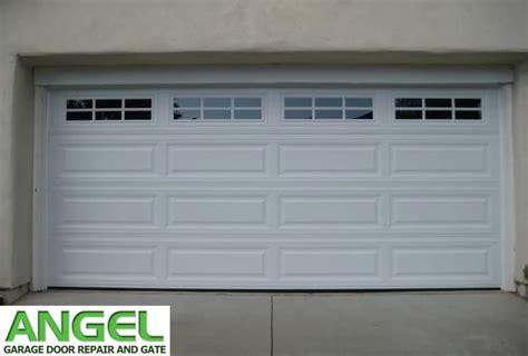 garage door panel repair angel garage door repair  gate