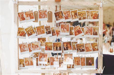 photo display shabby chic uk wedding theme real wedding