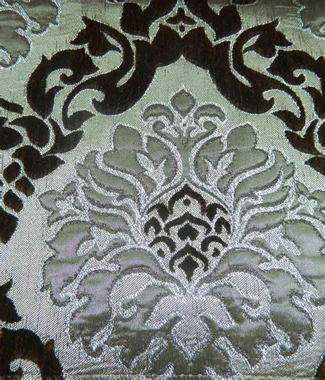 velvet damask upholstery fabric chansons silk velvet brown grey shimmer damask upholstery