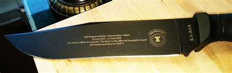 engraved kitchen knives knife engraving the specialists at custom engraving knives