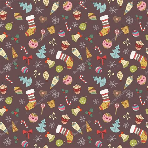 cute christmas pattern cute seamless christmas pattern holiday colorful