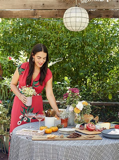 heather taylor home designer heather taylor s west coast style fall dinner party