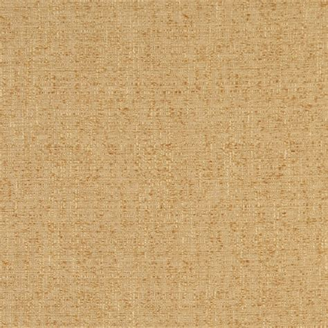 Textured Upholstery Fabric B402 Gold Textured Solid Jacquard Woven Upholstery Fabric