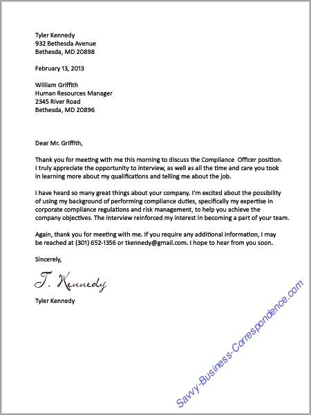 Sle Business Letter For Recruitment Sle Thank You Letter After Attorney Cover Letter Templates