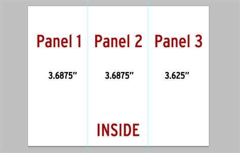 printable area indesign legal size tri fold brochure template csoforum info