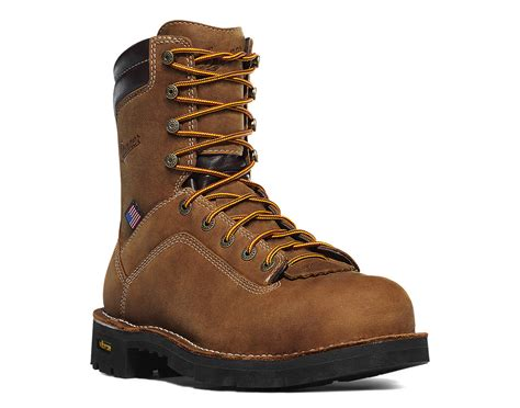 danner work boots danner quarry 8 inch alloy toe waterproof goretex work