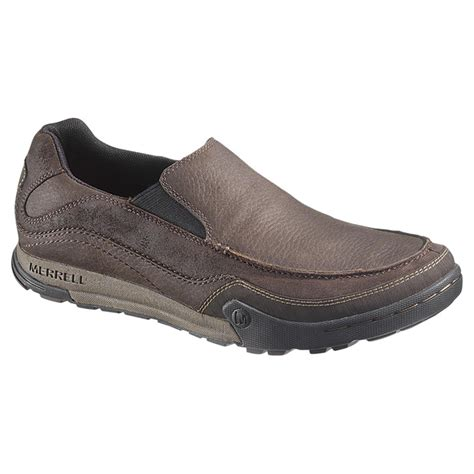 s merrell mountain moc slip ons 584030 casual shoes