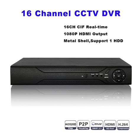 Dvr Cctv 16ch Spc cctv dvr 16ch digital recorder 16 channel h 264 home security dvr 1080p hdmi output onvif
