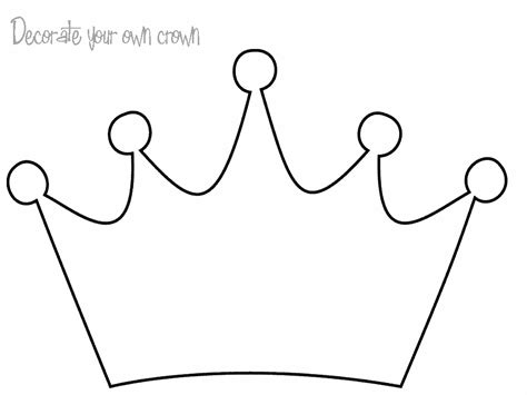 crown coloring page printable crown coloring pages to download and print for free