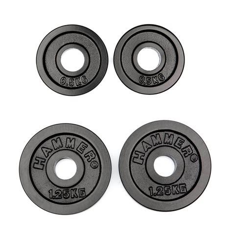 hummer weight buy hammer weight plates 2x 0 5 kg 2x 1 25 kg black