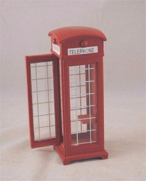 dollhouse 1 12 scale phone booth dollhouse miniature 1 12 scale t5965
