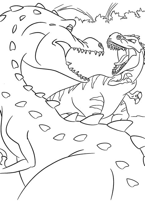 Dinosaur Coloring Pages Evil Coloring Pages Colouring Pages Of Dinosaurs 2