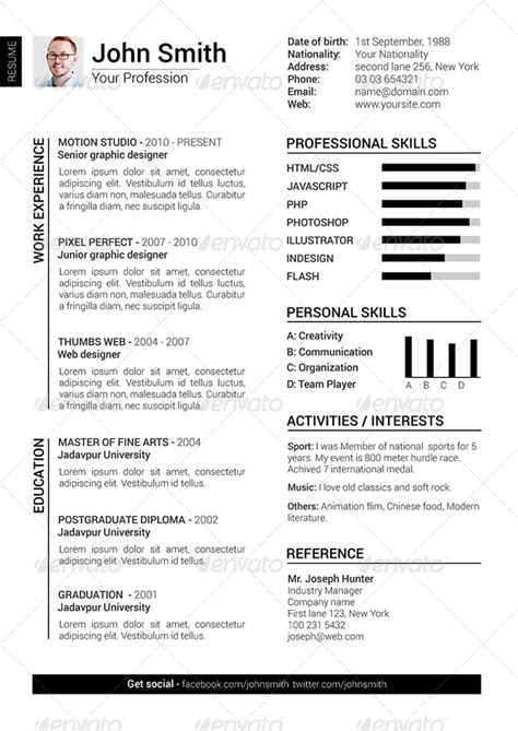 2 clean resume cover letter by gbjsolution