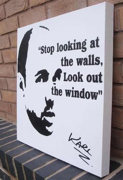spray painter quote karl pilkington stencil spraypaint quote by ramart79 on