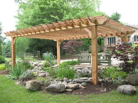big kahuna cedar pergola kit for the home pinterest