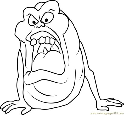 free coloring pages ghostbusters slimer coloring page free ghostbusters coloring pages
