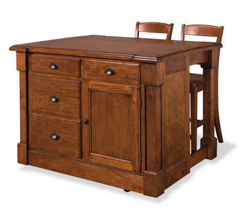 aspen kitchen island home styles aspen kitchen island and 2 stools qvc