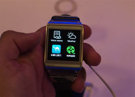 samsung clock themes com the galaxy gear preview samsung s first wearable