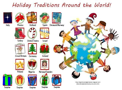 holiday traditions around the world thinglink