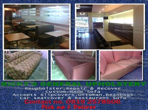 upholstery services philippines ricky s general upholstery services from manila