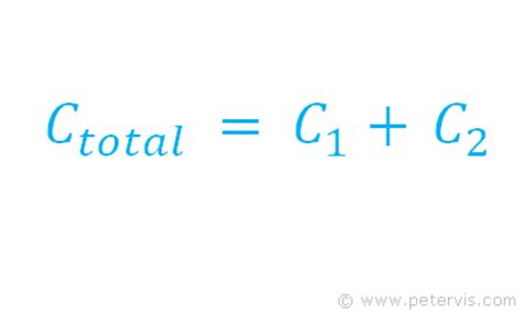 capacitor lifetime formula electrolytic capacitor formula 28 images capacitors in series derivation stacked capacitors