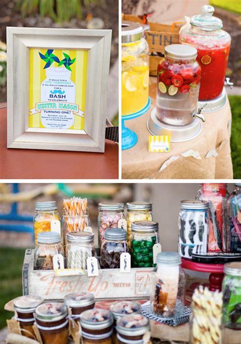 All Themes Jar | kara s party ideas mason jar mr man mustache 1st