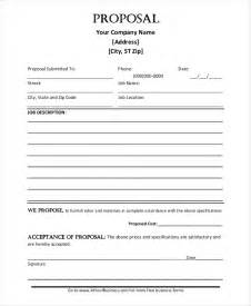 templates for proposals in word template 187 construction template