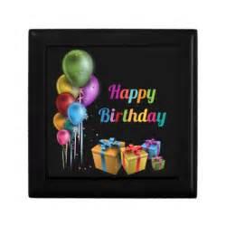happy birthday gift box zazzle