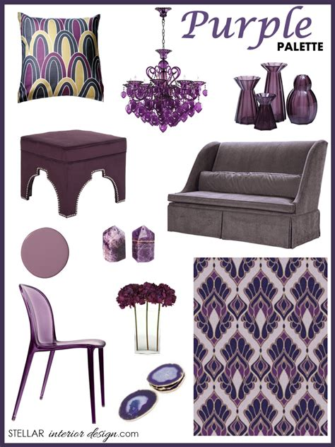purple home decor home design
