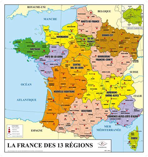 Carte De by Nouvelle Carte De Administrative