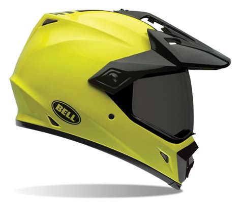 Hi Search Bell Mx 9 Adventure Hi Vis Helmet 47 89 96 Revzilla