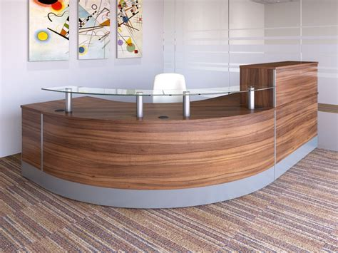 Reception Desk Materials Concept Modular Reception Desks