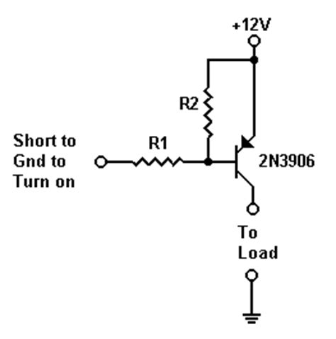 pnp transistor as switch circuit choosing a suitable pnp or npn transistor switch eeweb community