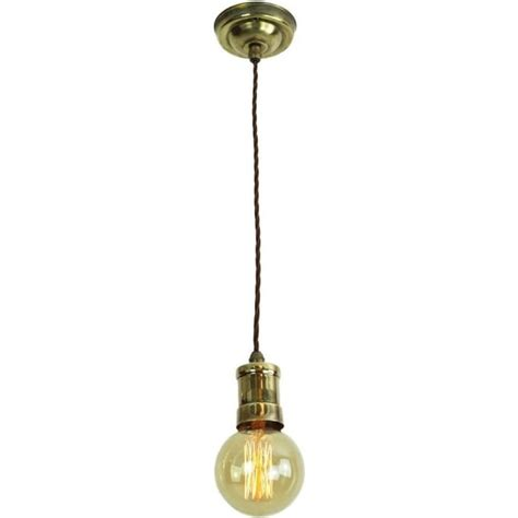 Light Bulb Hanging From Ceiling Single Hanging Ceiling Pendant Light Industrial Style Vintage Bulb