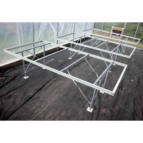 greenhouse benches commercial ez grow professional greenhouse bench 4 x 8 growers supply