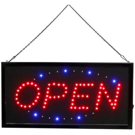 shop open sign lights led open sign shop window display hanging light