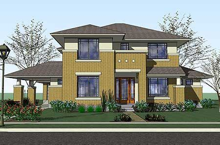 Modern Prairie Style House Plans by Plan 16817wg Prairie Style Home With Porte Cochere