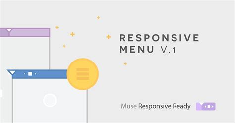 muse hover animation effects responsive muse templates muse responsive menu