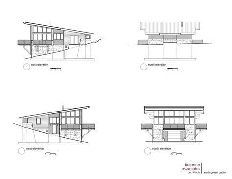 House Design With Floor Plan gallery of wintergreen cabin balance associates