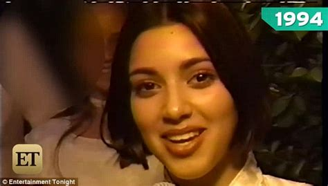 hope kris jenner falls from fame kim kardashian predicts future fame at age 13 in home